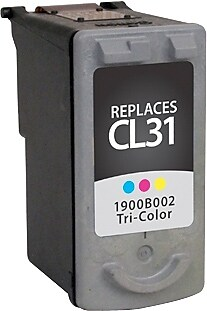 Staples Remanufactured Tricolor Ink Cartridge, Canon CL-31 (SIC-RCL31CDS)