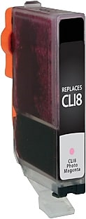 Staples Remanufactured Photo Magenta Ink Cartridge, Canon CLI-8 (SIC-RCLI8PMDS)