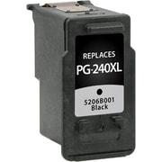 Staples Remanufactured Black Ink Cartridge, Canon PG-240XL (SIC-RPG240XB), High Yield