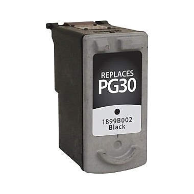 Staples Remanufactured Black Ink Cartridge, Canon PG-30 (SIC-RPG30BDS)
