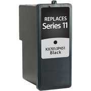 Staples Remanufactured Black Ink Cartridge, Dell Series 11 (SID-RKX701DS), High Yield