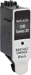 Staples Remanufactured Black Ink Cartridge, Kodak 10XL (SIK-R10XBDS), High Yield