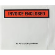 "Staples Back-Loading Packing List Envelopes - Invoice Enclosed, 4 1/2"" x 5 1/2"", 1000/Case (150CT4)"