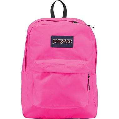 Jansport Superbreak Backpack, Floral Pink