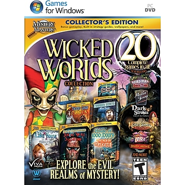Mystery Masters: Wicked Worlds [Boxed]