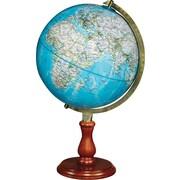 National Geographic - Globe terrestre de bureau Hudson, 12 po, bleu