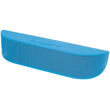 Aduro Bee Bop Portable Bluetooth Speaker with Microphone, Blue