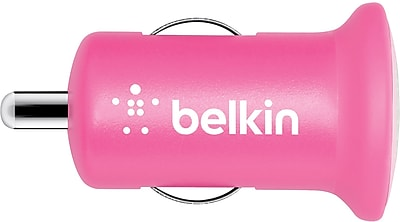 Belkin Mixit Car Chargers for iPad (10 Watt/2.1 Amp), Pink