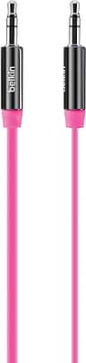 Belkin Mixit 3 ft Aux Cable, Pink