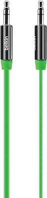 Belkin Mixit 3 ft Aux Cable, Green