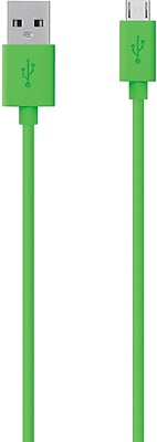 Belkin Mixit Micro-USB to USB ChargeSync Cable, Green