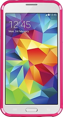 Belkin AIR PROTECT Grip Bumper Protective Case for Galaxy S5, Fuchsia/Mint