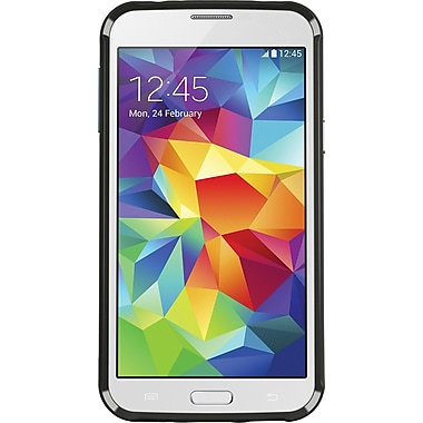 Belkin AIR PROTECT Grip Bumper Protective Case for Galaxy S5, Blacktop/Slate