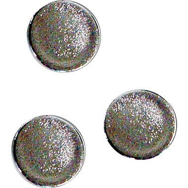 MasterVision® 1 Super Magnets Silver 10 ct