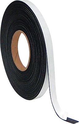 MasterVision® Magnetic Adhesive Tape Roll 1/2x 50 ft Value Pack