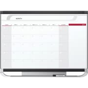 Quartet® Prestige® 2 Magnetic Monthly Calendar Board, 3' x 2', Total Erase®