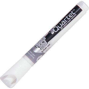 Quartet® Dry Erase Paint Markers, Bullet Tip, White, 4/Pack