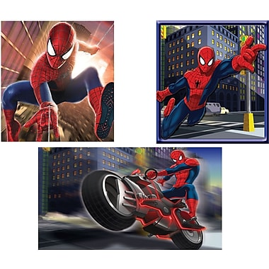 Marvel Spider-Man Wall Art Assortment, 3/Pack