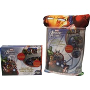 Marvel – Literie dans un sac Avengers Halo, lit jumeau, bleu