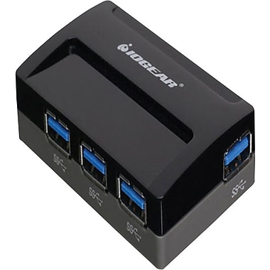 IOGEARMD – Concentrateur USB 3.0 SuperSpeed à 4 ports