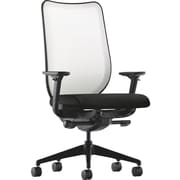 HON® HONN102NT10 Nucleus® Fabric Mesh Back Office Chair with Adjustable Arms, Black