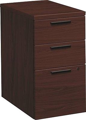 HON 10500 Series Mobile Pedestal, 2 Box/1 File Drawer, 15-3/4