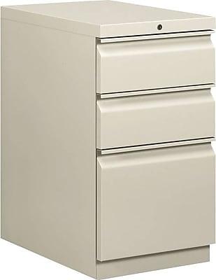 HON Brigade Mobile Pedestal, 2 Box/1 File Drawer, Radius Pull, 15