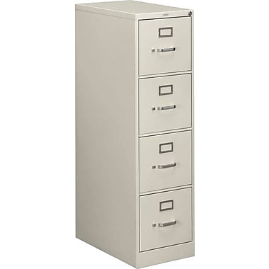 HON 510 Series 4 Drawer Vertical File, Gray,Letter, 15''W (H514PQ.COM) NEXT2017