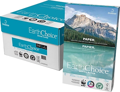 EarthChoice® Office Paper, 20 Lb., 92 Bright, 8 1/2