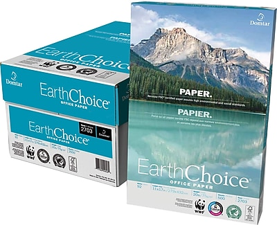 EarthChoice® Office Paper, 20 Lb., 92 Bright, 11