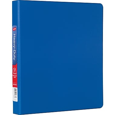 Staples® Heavy-Duty Binder with D-Rings, 1