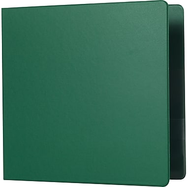 Staples 3-Inch Heavy-Duty D-Ring Binder, Green (24661-US)