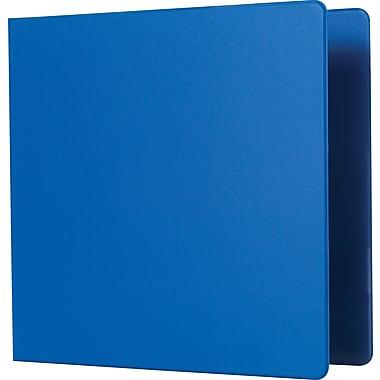 Staples® - Reliure robuste à anneaux en D, 3 po, bleu