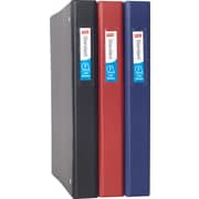 "1"" Staples® Standard Binder with Label Holder and Slant-D™ Rings"