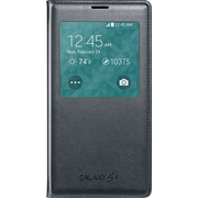 Samsung GS5 S-View Flip Cover, Black
