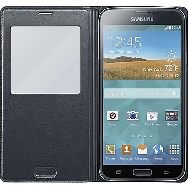Samsung Galaxy S5 Flip Wallet, Black