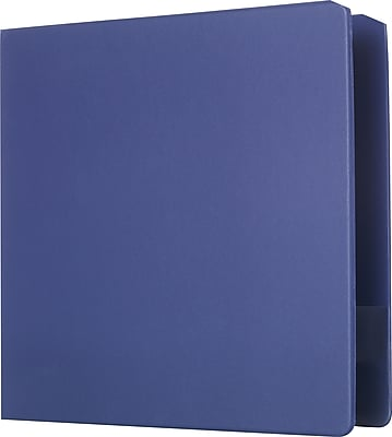 Staples Standard 3-Inch D 3-Ring Binder, Blue (26424-CC)