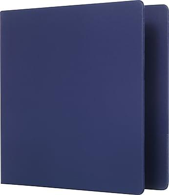 Staples Standard 2-Inch D 3-Ring Binder, Blue (26418-CC)