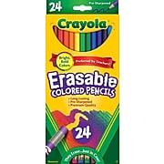 Crayola Erasable Colored Pencils, 24/Box