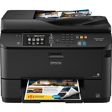 Epson WorkForce Inkjet All In One Color Printer WF 4630