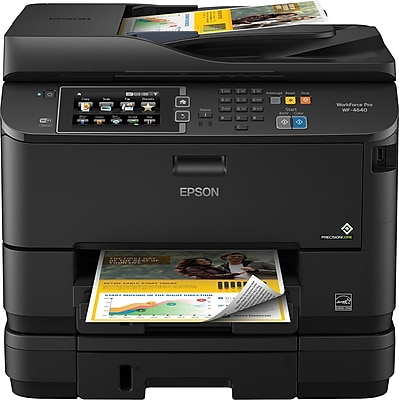 Epson WorkForce Pro WF-4640 Color Inkjet All-in-One Printer (C11CD11201)