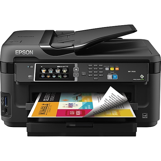 Epson WorkForce WF 7610 Color Inkjet Printer C11CC98201