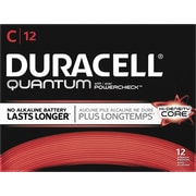 Duracell® Quantum Alkaline C Batteries, 12/bx