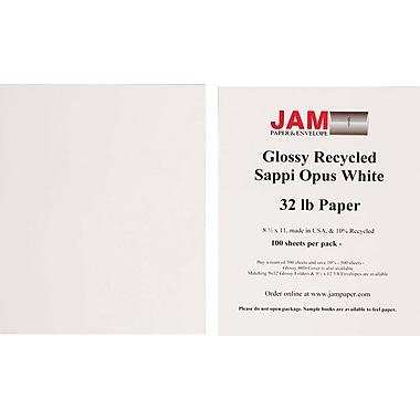 Jam Paper® Glossy Paper, 8-1/2