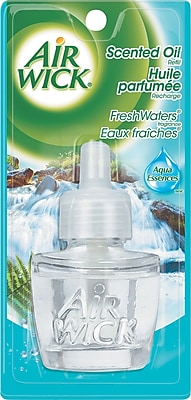 Scented Oil Refill, Fresh Waters, 0.71oz Bottle, Clear