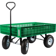 "Farm Tuff 30"" X 46"" Poly Crate Wagon"