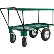 "Farm Tuff 24"" X 48"" Metal Double Deck Cart"