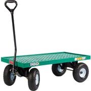 "Farm Tuff Polypropylene 20"" X 40"" Plastic Deck Wagon"