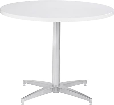 ICEBERG OfficeWorks 48'' Round Conference Table, White (69153)