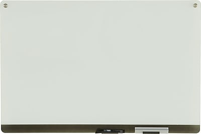 Iceberg Clarity® Personal Glass Dry-Erase Board, Frameless, 36